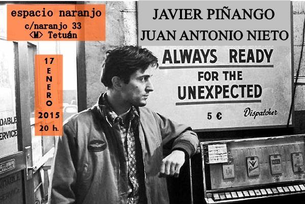Juan Antonio Nieto + Javier Piñango. Concierto en Espacio Naranjo, Madrid
