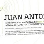 Juan Antonio Nieto on WebSYNradio from january 8th to 22nd 2015