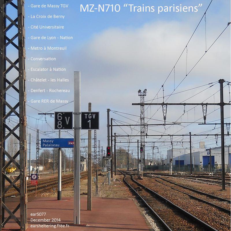 MZ-N710 . Trains Parisiens