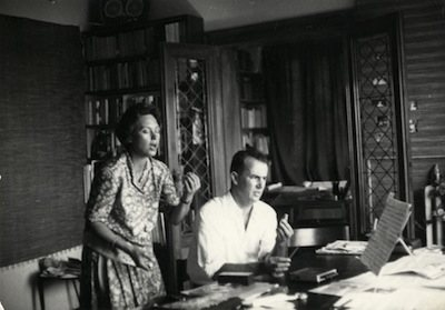 Luigi Nono e Carla Henius