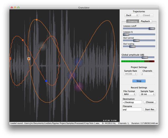 SOUNDGRAIN Granular Sound Synthesis