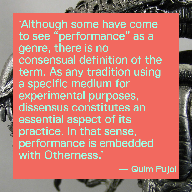 Quim Pujol on performance