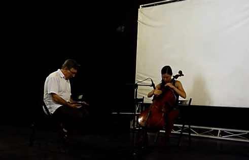 Impro: Cello - Electrónica